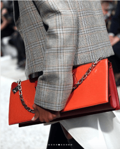 Louis Vuitton Orange Epi Clutch Bag - Cruise 2019