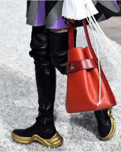 Louis Vuitton Red Epi Bucket Bag - Cruise 2019