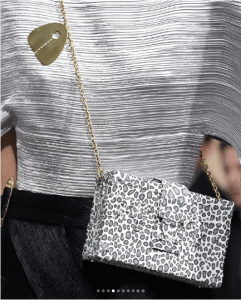 Louis Vuitton White Animal Print Petite Malle Bag - Cruise 2019