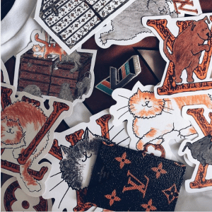 Louis Vuitton x Grace Coddington Stickers - Cruise 2019