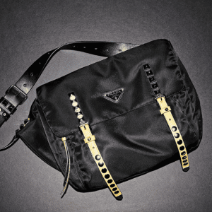 Prada Black Nylon Shoulder Bag 2