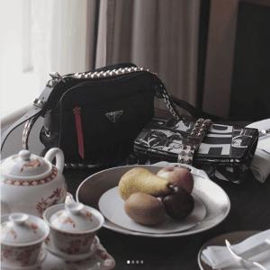 Prada Black Nylon Shoulder Bag 4