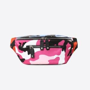 Valentino Multicolor Camoushuffle Belt Bag
