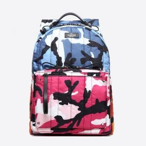 Valentino Multicolor Camoushuffle Rucksack Bag
