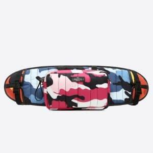 Valentino Multicolor Camoushuffle Skateboard Holder