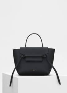 Celine Black Nano Belt Bag