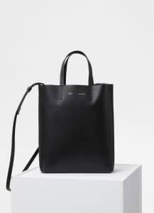Celine Black Small Cabas Bag