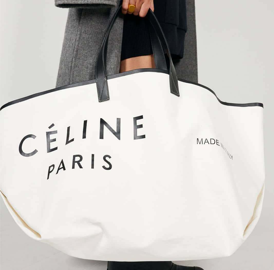 66796102d8d Celine Fall 2018 Bag Collection Featuring The Made in Tote Bags ...