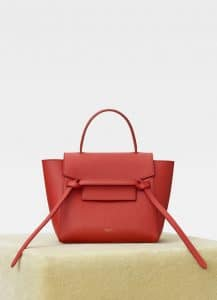 Celine Fox Red Nano Belt Bag