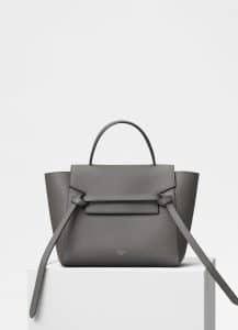 Celine Grey Micro Belt Bag