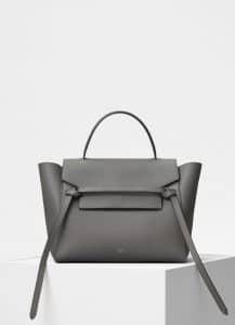 Celine Grey Mini Belt Bag