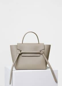 Celine Light Taupe Micro Belt Bag