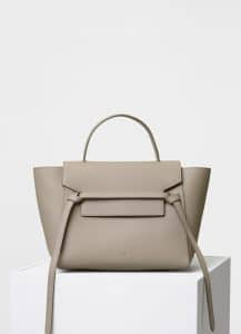Celine Light Taupe Mini Belt Bag