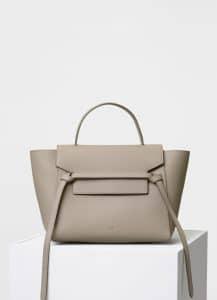 Celine Light Taupe Mini Belt Bag