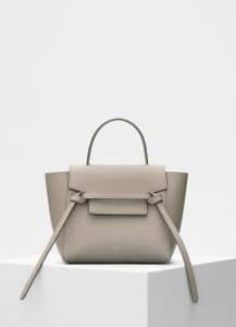Celine Light Taupe Nano Belt Bag