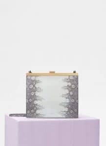 Celine Natural Lizard Mini Clasp Bag