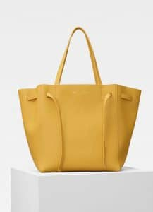 Celine Sunflower Small Cabas Phantom Bag