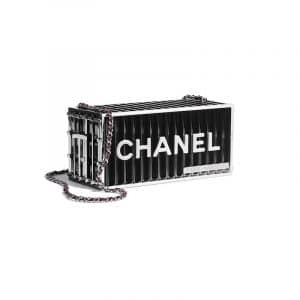 Chanel Black Evening In Hamburg Minaudiere Bag