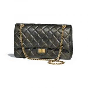 Chanel Charcoal 2.55 Reissue Size 226 Bag