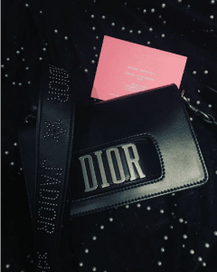 Dior Black Dio(r)evolution with Studed J'adior Strap