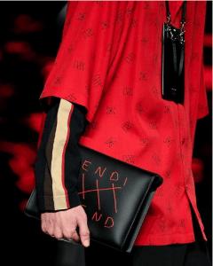 Fendi Black Clutch Bag - Spring 2019