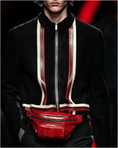 Fendi Red FF Belt Bag - Spring 2019