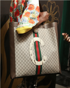 Gucci Brown GG Supreme Tote Bag - Cruise 2019