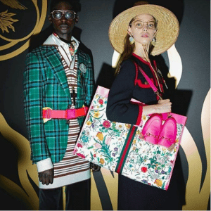 Gucci Multicolor Floral Tote Bag - Cruise 2019
