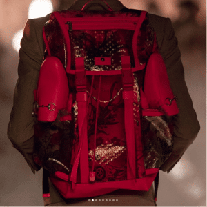 Gucci Red Backpack Bag - Cruise 2019