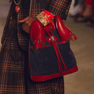 Gucci Red/Blue Hobo Bag - Cruise 2019