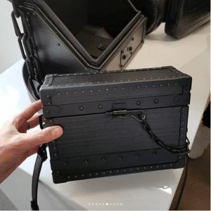 Louis Vuitton Black Mini Trunk Bag 2 - Spring 2019