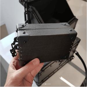 Louis Vuitton Black Mini Trunk Bag - Spring 2019