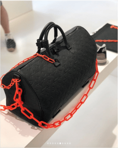 Louis Vuitton Black Monogram Keepall Bag - Spring 2019