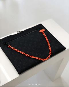 Louis Vuitton Black Monogram Pouch Bag - Spring 2019