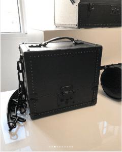 Louis Vuitton Black Trunk Bag 2 - Spring 2019