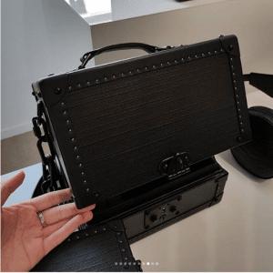 Louis Vuitton Black Trunk Bag - Spring 2019