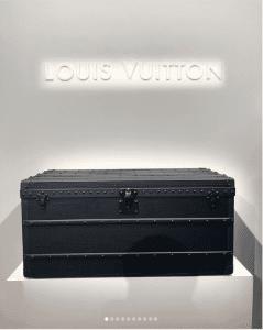 Louis Vuitton Black Trunk - Spring 2019