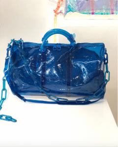 Louis Vuitton Blue Monogram PVC Bag - Spring 2019