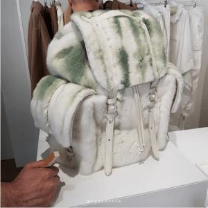 Louis Vuitton Fur Christopher Backpack Bag - Spring 2019