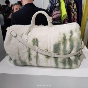 Louis Vuitton Fur Keepall Bag - Spring 2019