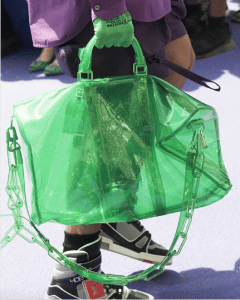 Louis Vuitton Green Transparent Keepall Bag - Spring 2019