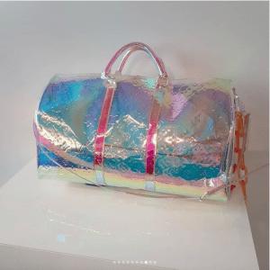 Louis Vuitton Iridescent Monogram Keepall Bag - Spring 2019