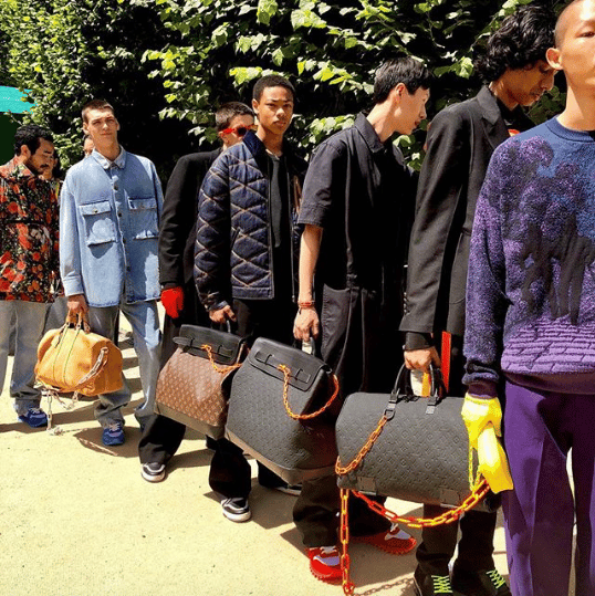 Louis Vuitton Keepall and Steamer Bags - Spring 2019