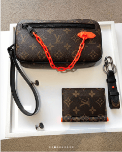 Louis Vuitton Monogram Canvas Pouch Bag 2 - Spring 2019