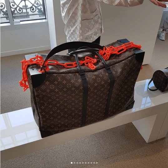 2e5bd30e81df Louis Vuitton Monogram Canvas Sirius Bag - Spring 2019. IG   hedonists
