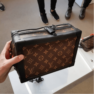 36c8f666cee2 Louis Vuitton Monogram Canvas Soft Petite Malle Bag - Spring 2019. IG    hedonists
