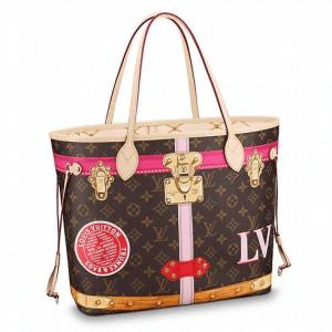 Louis Vuitton Neverfull Summer Trunks Tote Bag 2