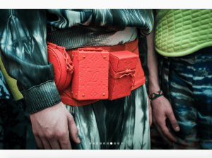 Louis Vuitton Red Monogram Belt Bag - Spring 2019