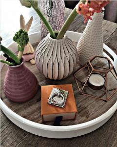 Louis Vuitton Silver Nanogram Phone Ring Holder 3