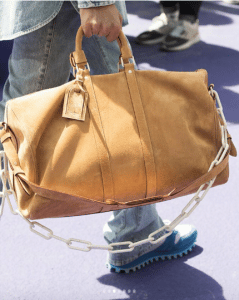 Louis Vuitton Tan Suede Keepall Bag - Spring 2019